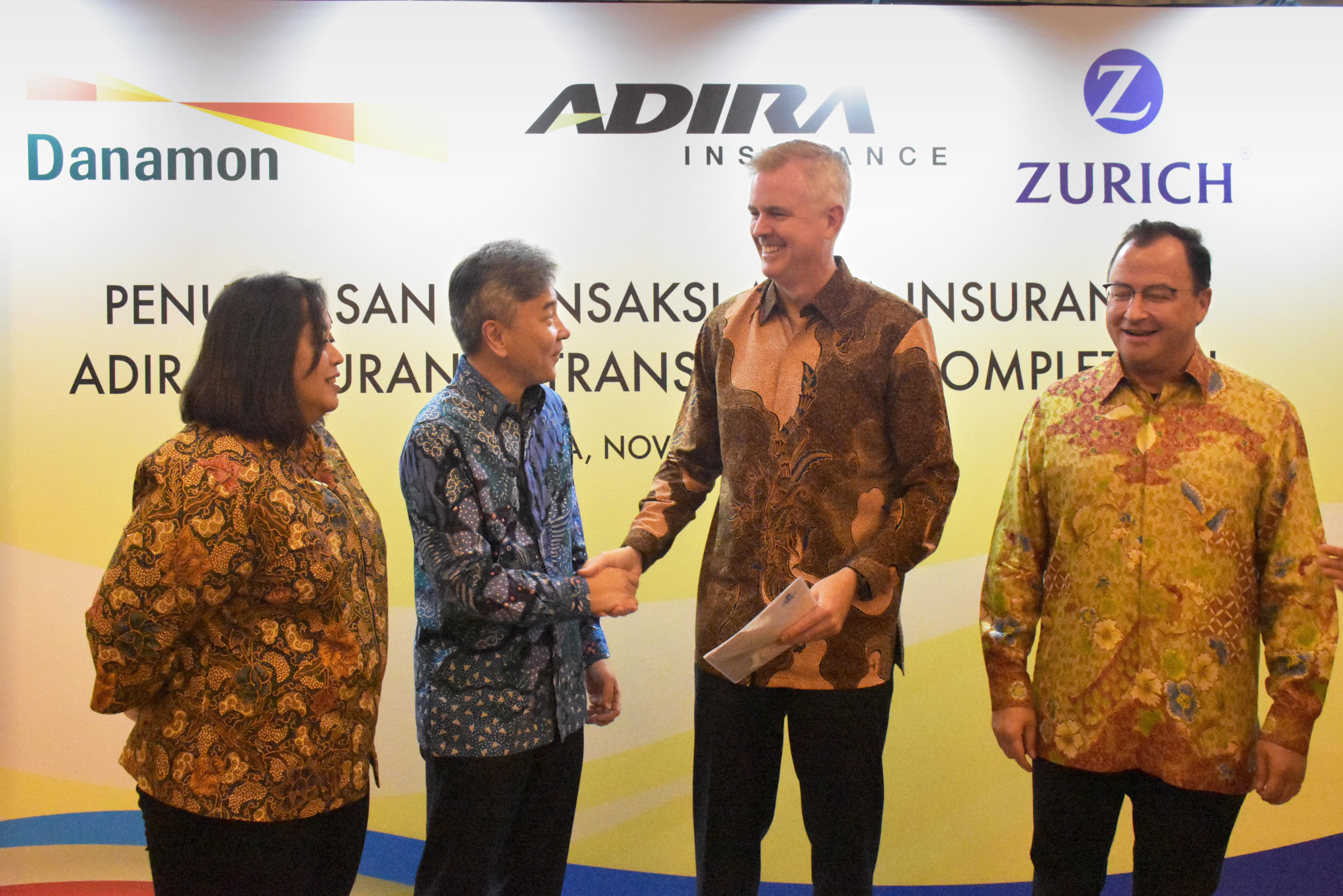 Zurich Akuisisi Asuransi Adira Menjadi Asuransi Umum Internasional Terbesar Di Indonesia 2019 Zurich Insurance